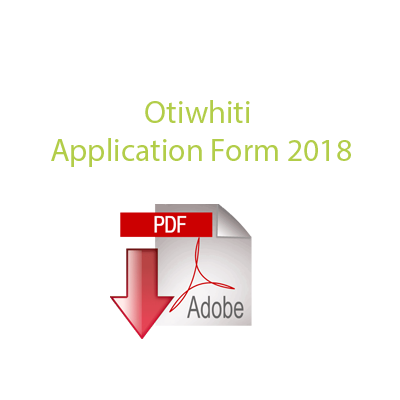 2018 Application Form